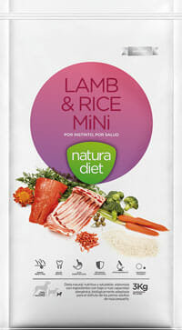 NATURA DIET, Lamb & Rice Mini