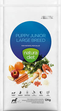 NATURA DIET, Puppy Junior Large Breed