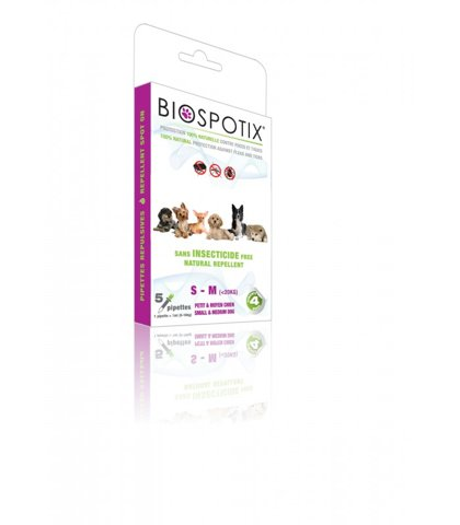 Biospotix, Pipettes insectifuges