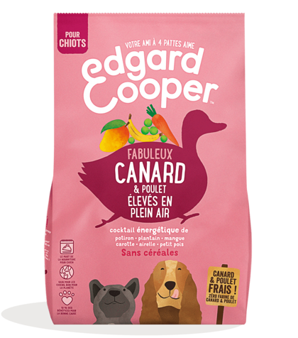 EDGARD COOPER, CHIOTS, Poulet & Canard
