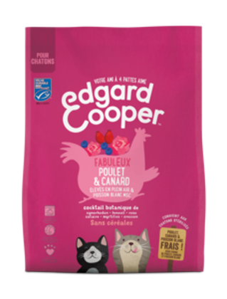 EDGARD COOPER, Poulet & Canard, pour chatons